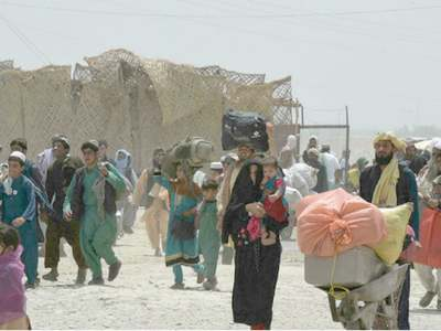 Border crossing reopens after Taliban seizure