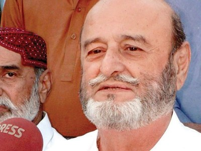 Former Chief Minister Sindh Mumtaz Ali Bhutto passes away