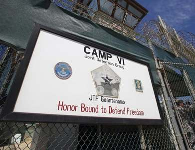 In a first under Biden, detainee transferred out of Guantanamo Bay