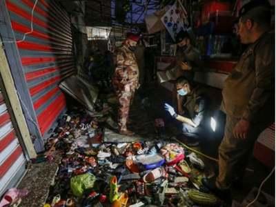 Suicide attack in Iraq's Sadr City kills at least 31, wounds dozens