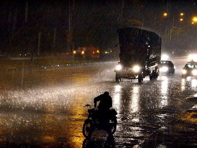 Lahore receives first heavy spell of monsoon