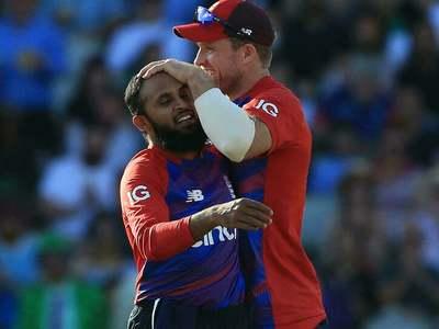 Rashid stars as England edge T20 series against Pakistan
