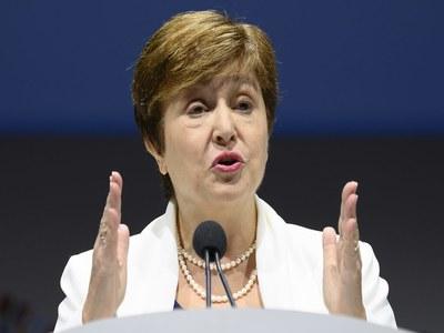 IMF to keep 2021 global growth forecast at 6%: Georgieva