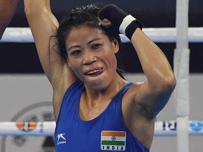 India's 'Magnificent Mary' fights to the last for Olympic boxing glory