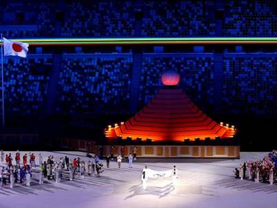 Athletes parade in empty stadium: Tokyo Games open in shadow of pandemic