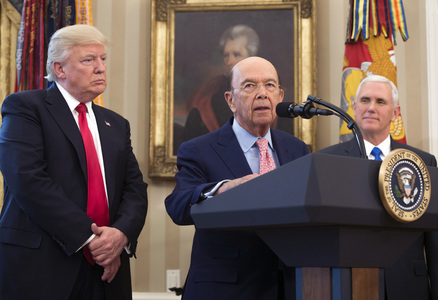 China retaliates with sanctions on ex-US commerce secretary Ross, others