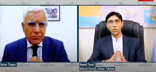 Kashmir dispute and terrorism core concerns with India: Moeed Yusuf