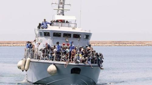 Morocco's navy rescues 368 migrants bound for Spain