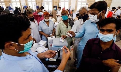 Pakistan reports 2,819 new Covid infections, 45 deaths in 24 hours