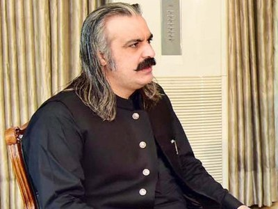 Gandapur accuses PML-N, PPP of creating unrest in AJK polls