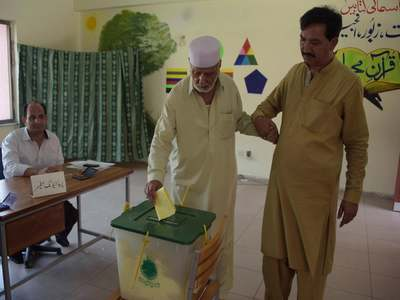 Polling for AJK elections peacefully held in KP