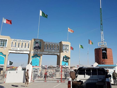 Chaman border reopens for three hours