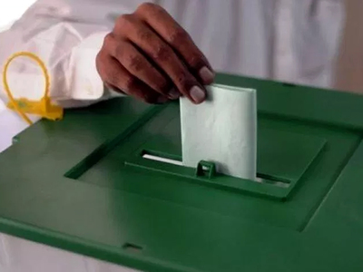 Voting process for AJK elections in Karachi held