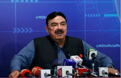 All foreigners living without visa should leave Pakistan by August 14: Sheikh Rashid