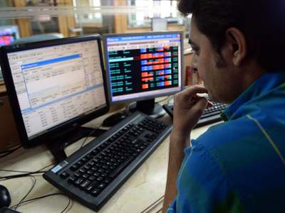 Indian shares end lower on banks, auto stocks