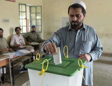 PTI clinches AJK elections with 25 seats, announces Chief Election Commissioner