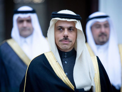 Saudi FM due today on day-long visit