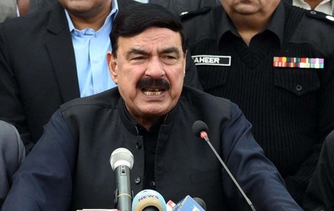 Rashid urges Nawaz to stop issuing anti-state, army, Imran statements