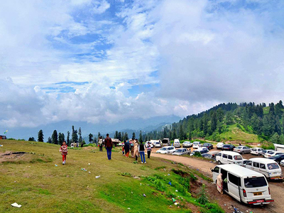 Number of tourists in Northern Areas increases dramatically