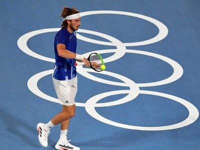 Tsitsipas gets revenge on Tiafoe to make Olympics third round