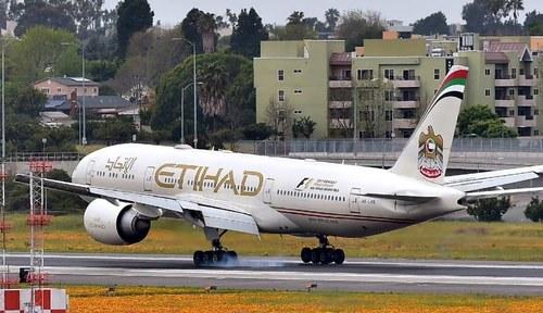 Etihad Airways extends suspension of flights from Pakistan till August 2