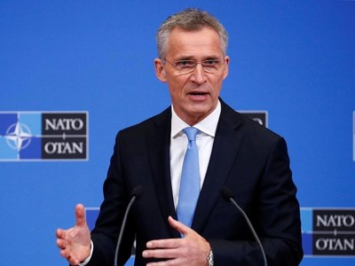 NATO chief urges 'negotiated settlement' in Afghanistan