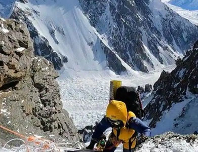 Pakistan's Shehroze, 19, becomes youngest person to summit K2