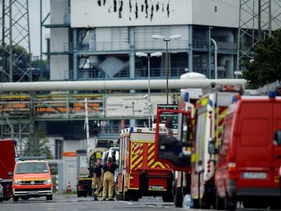 Blast in German industrial park kills two; several missing