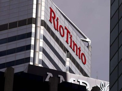 Rio Tinto first-half earnings more than doubles