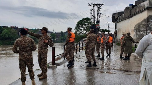 Pak Army called in as urban flooding hits parts of Islamabad following cloudburst