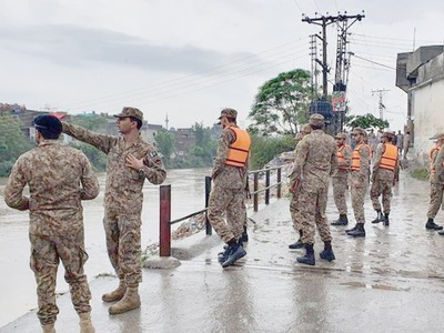 Two killed in Islamabad as torrential rains create havoc