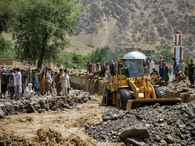 Afghan villagers search for survivors as flash flood kills at least 40