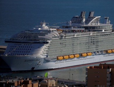 Super cruise ship sets sail from Saudi for first time