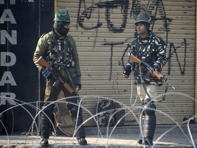 Indian troops martyr two youths in IIOJK