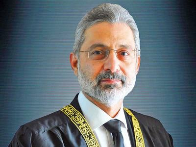 Justice Isa hospitalised due to Covid complications