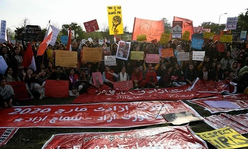 Faisalabad Aurat March cancelled, Amnesty International calls for granting permission
