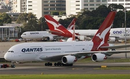 Australia's Qantas to furlough 2,500 workers