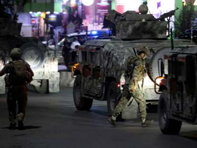 Kabul hit by powerful explosion, gunfire, at least three dead