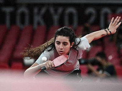 Syrian Olympic table tennis player, 12, to get China training