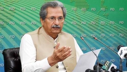Schools, universities to remain open: Shafqat Mahmood