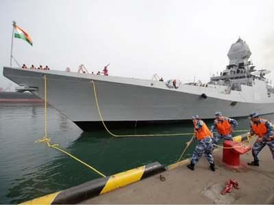 India deploys warships in South China Sea