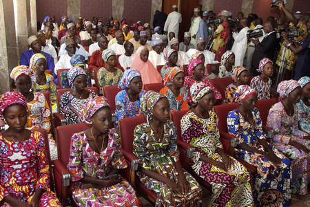 Kidnapped Nigeria Chibok girl free after seven years: governor