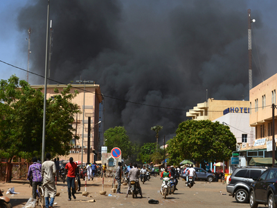 Attack in Burkina Faso kills at least 12 soldiers, sources say