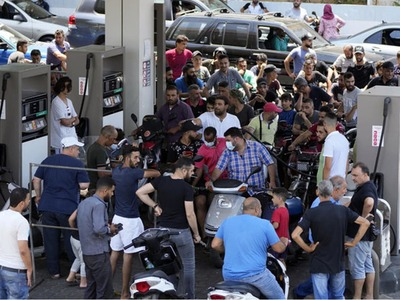 Brawls in Lebanon's north over rationed fuel leave 3 dead