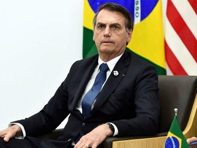 Brazil's Bolsonaro flexes muscles with military parade