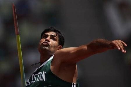 Javelin thrower Arshad Nadeem gets warm reception