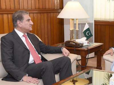 Pak, int'l community on same page for peaceful, negotiated settlement in Afghanistan: FM Qureshi