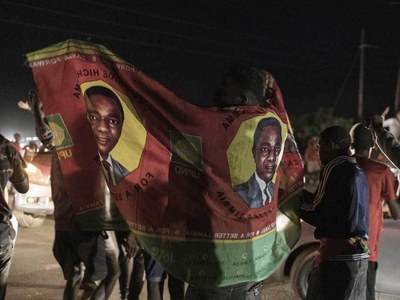 Zambia's opposition leader Hichilema wins presidential vote at sixth bid