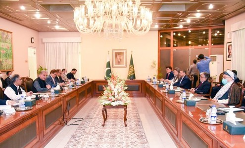 Important to closely coordinate next steps: FM tells Afghan delegation