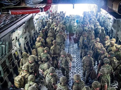 Britain says Taliban control Afghanistan - we're not going back